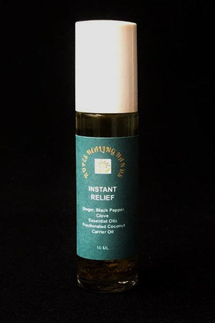 Instant Relief Organic Essential Oil Blend  10 ml Roll-On