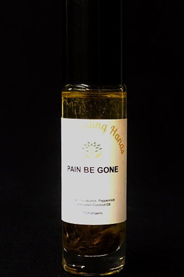 Pain Be Gone Organic Essential Oil Blend  10ml Roll-on