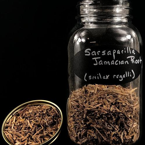 Jamaican Sarsaparilla Root  ORGANIC   (Sold per ounce)
