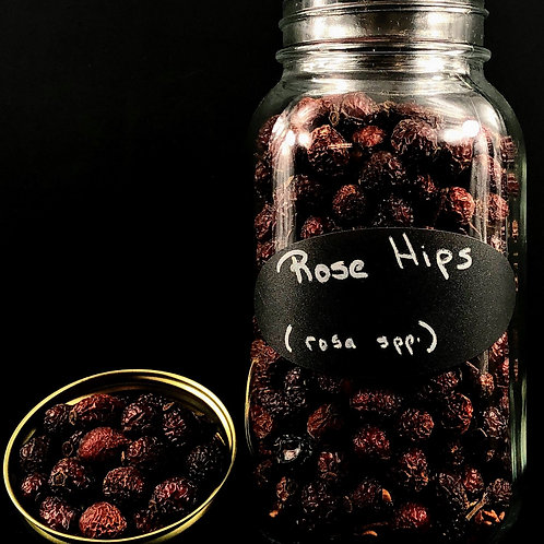 Rose Hips Whole  ORGANIC   (Sold per ounce)
