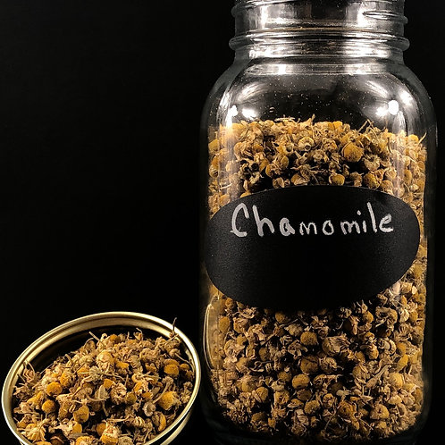 Chamomile Flowers   ORGANIC  (per ounce)