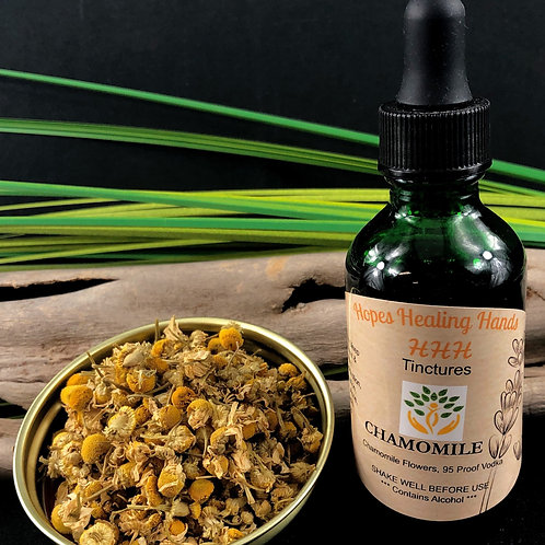 Chamomile Tincture with Vodka  2 Ounce