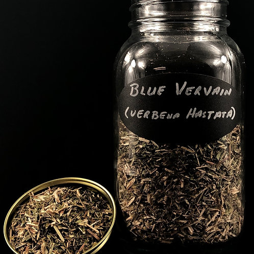 Blue Vervain   ORGANIC  (Sold per ounce)
