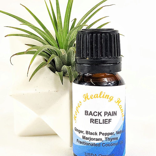 Back Pain Relief Essential Oil Blend   10ML
