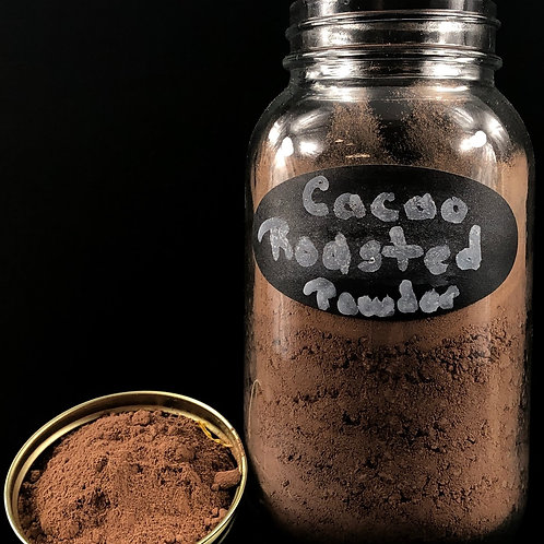 Roasted Cacao Powder  ORGANIC   (Sold per ounce)