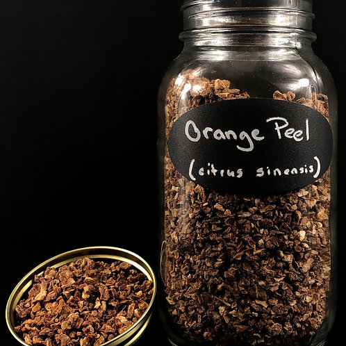 Orange Peel   ORGANIC   (Sold per ounce)