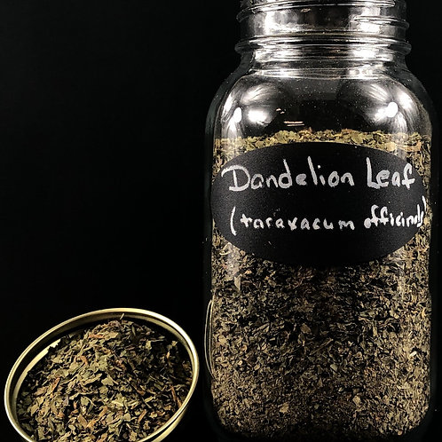Dandelion Leaf  ORGANIC   (Sold per ounce)