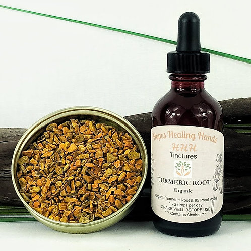 Turmeric Root Tincture  2 Ounce