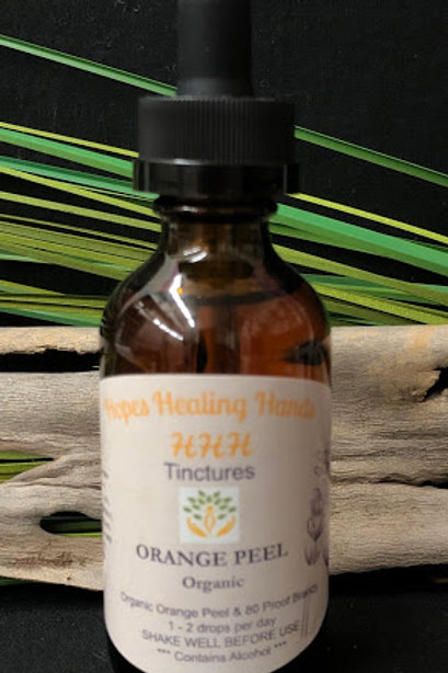 Orange Peel Tincture with Brandy  2 Ounce