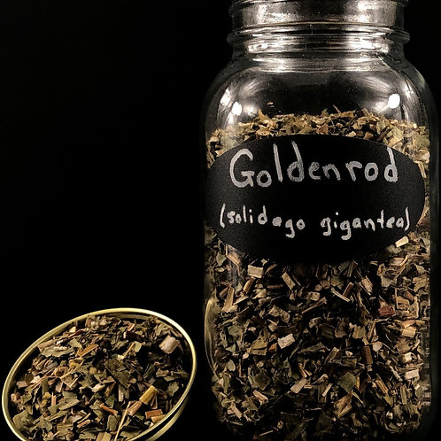 Golden Rod  ORGANIC   (Sold per ounce)
