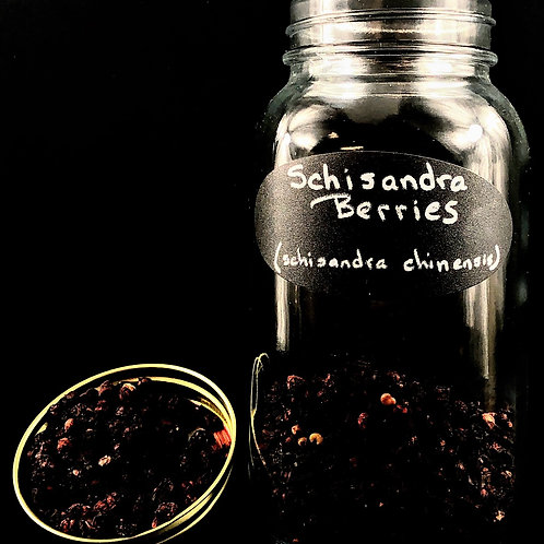 Schisandra Berries  ORGANIC   (Sold per ounce)