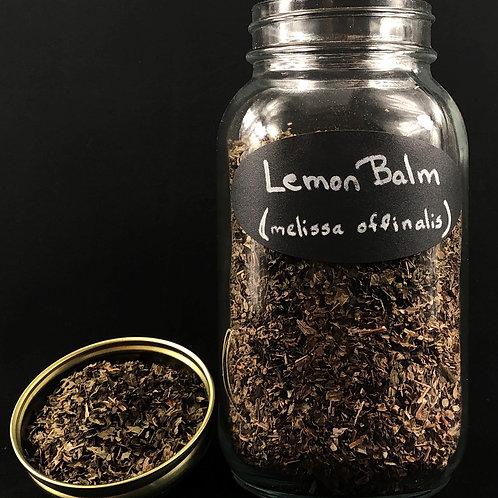 Lemon Balm Leaf   ORGANIC   (Sold per ounce)