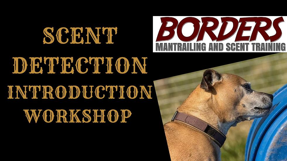 Scent Detection Introduction Workshop