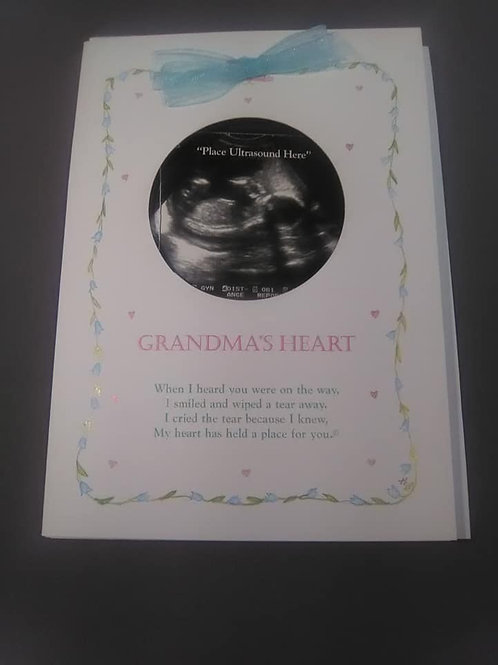 Ultrasound Picture Card