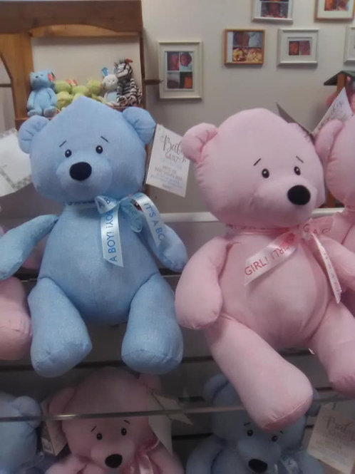 Baby Shower Write-On Bear