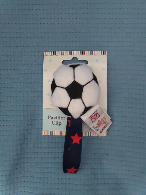 Pacifier Clips - Sports Balls