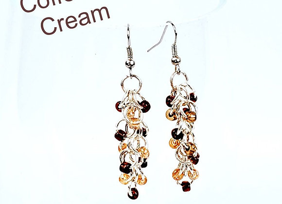 Shaggy Loops - Chain Maille Earrings