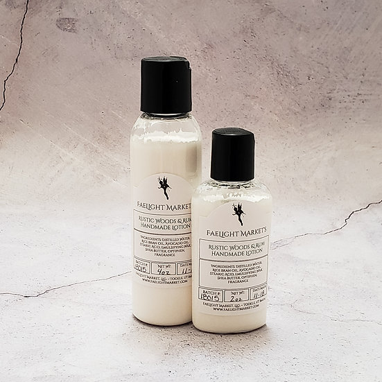 Rustic Woods & Rum Everyday Lotion -