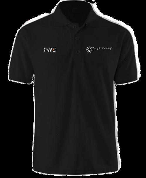 Caliph Exclusive Polo Shirt Black