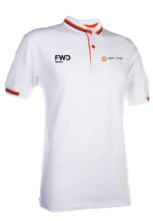 Caliph Exclusive Polo Shirt White