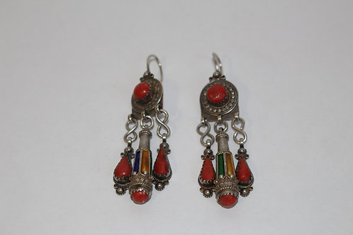 Boucles d'oreille kabyle (Ref BO 105)