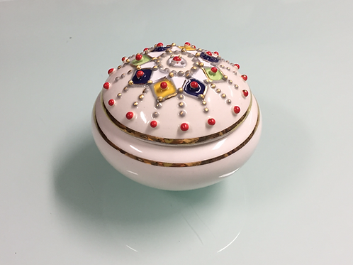 Petite boîte céramique de Kabylie (Ref CE 101)