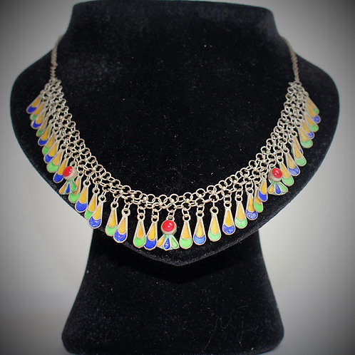 Collier Kabyle ras-le-cou  (Ref : CO 108)