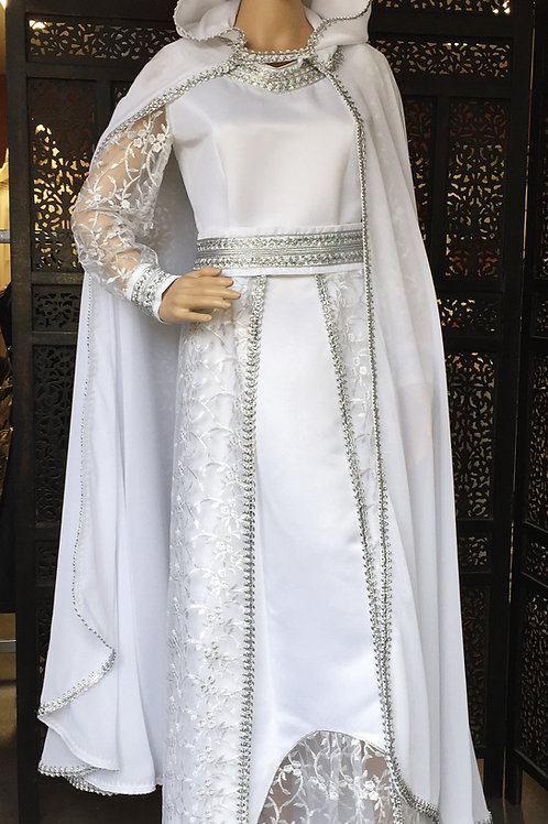 Robe de mariée broderie Berbère deluxe
