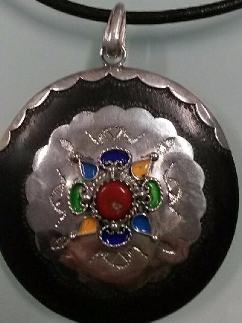 Collier pendentif Touareg (Ref CO102)