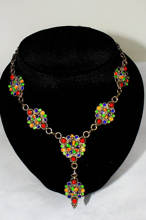 Collier ras-le-cou kabyle traditionnel (Ref : CO 109)