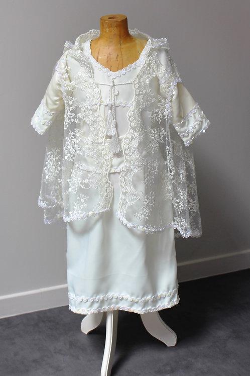 "Robe cérémonies Fille ""blanche"""