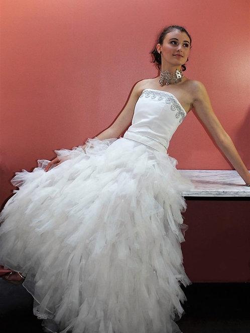 Robe de mariée broderie Amazigh glamour