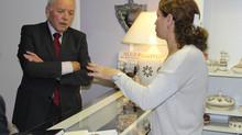 Petite visite du maire de Créteil à l'association
