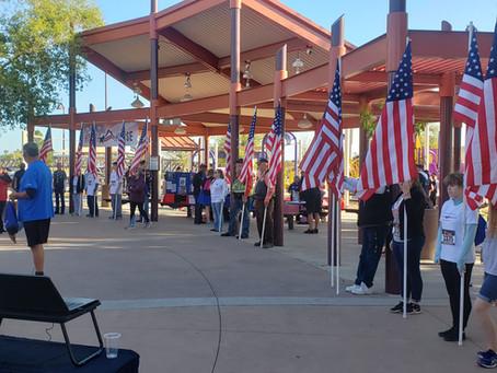 Patriots Run, Champions Dine, and Memorials Rise
