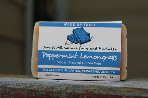 Peppermint Lemongrass Bar