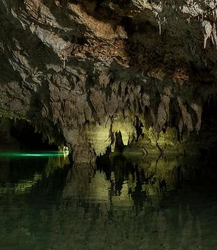 Mundo Maya Subterráneo - Yucatan Mexico - tour con guia – snorkel en el Mar Caribe - aventura en un espectacular rio subterraneo