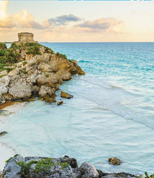 Classic Tulum Bike Tour - Yucatan Mexico - Day Tour - Tulum archaeological site - local culture - open cenote - Mayan Beekeeping foundation - Tulum Ruins - Bike Tour Guided