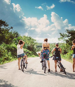 Mayan Backroads – Yucatan Mexico – Experiencas de un dia – Tour de bicicleta – Punta Laguna – comunidad maya – reserva natural – Mono