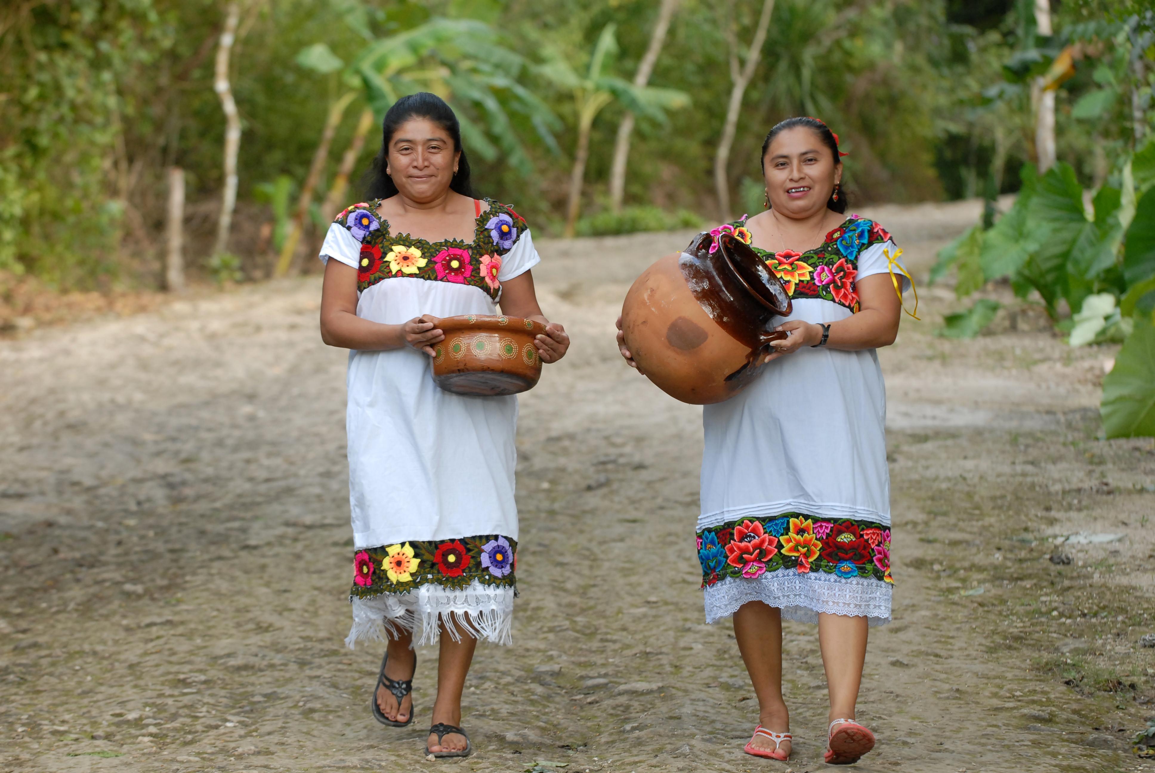 Mayan Women Punta Laguna community