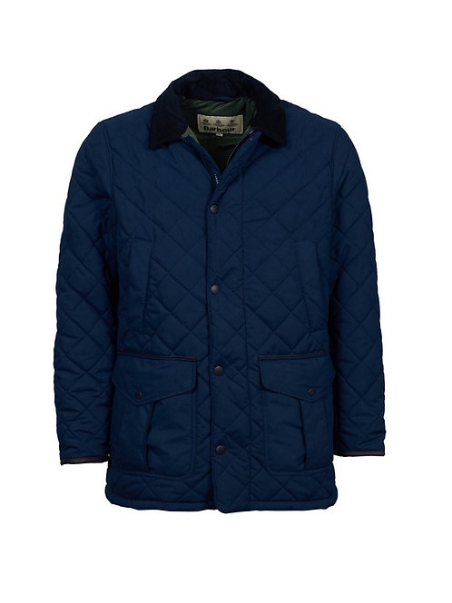 BARBOUR NAVY LANGDALE QUILTED JACKET