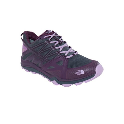 THE NORTH FACE LADIES GREY/PURPLE LITEWAVE FASTPACK GTX SHOES