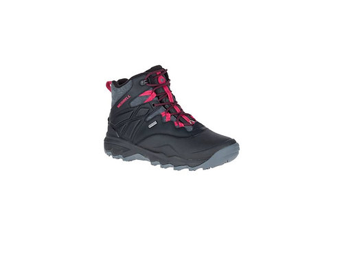 "MERRELL LADIES BLACK THERMO ADVENTURE 6"" ICE WALKING BOOTS"