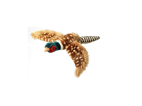 HOUSE OF PAWS LARGE PLUSH PHEASANT DOG TOY