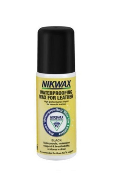 NIKWAX BLACK WATERPROOFING WAX FOR LEATHER 125ml