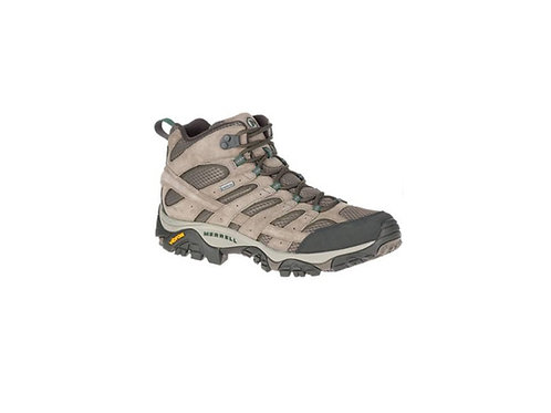 MERRELL BOULDER MOAB 2 LEATHER MID GTX WALKING BOOTS