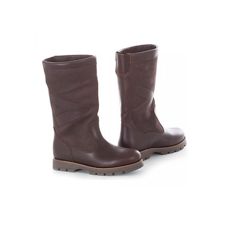 TOGGI BITTER CHOCOLATE CALENDON LEATHER BOOTS