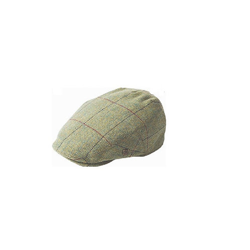 FAILSWORTH LIGHT GREEN MULTI (504) GAMEKEEPER FLAT CAP