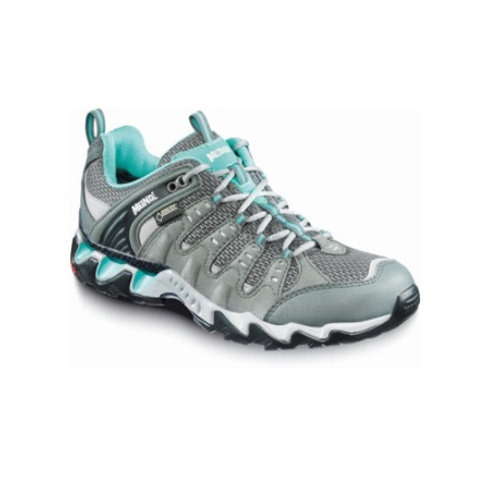 Meindl Anthracite Turquoise Respond Lady GTX Walking Shoes