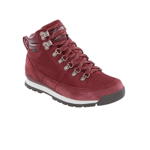 THE NORTH FACE LADIES RED/WHITE BACK-TO-BERKELEY REDUX BOOTS