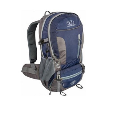 HIGHLANDER NAVY BLUE HIKER 30 RUCKSACK